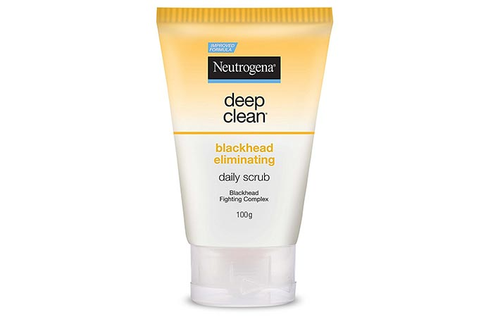 Neutrogena Deep Clean Blackhead Eliminating Daily Scrub - Scrubs To Get Rid Of Blackheads