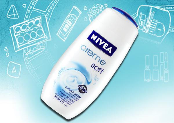 Nivea Creme Soft Shower Cream