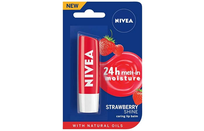 Nivea Fruity Shine Lip Balm