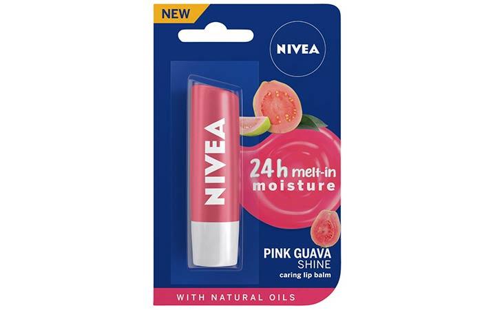 Nivea Pink Guava Shine Caring Lip Balm