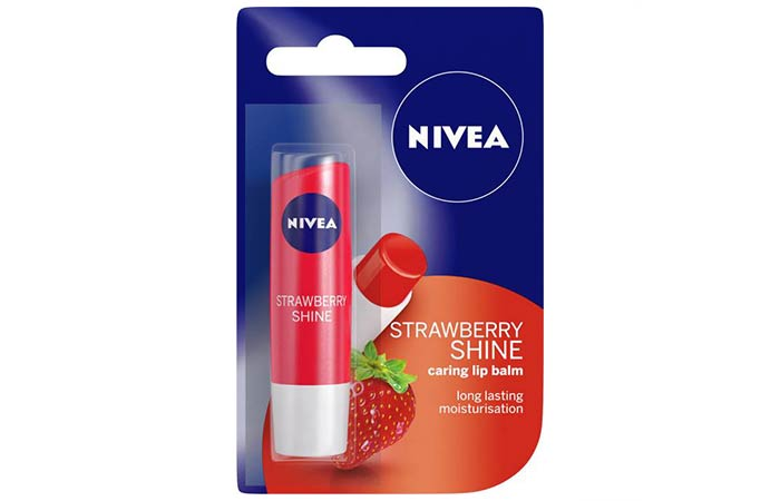 Nivea Strawberry Strawberry Shine Caring Lip Balm