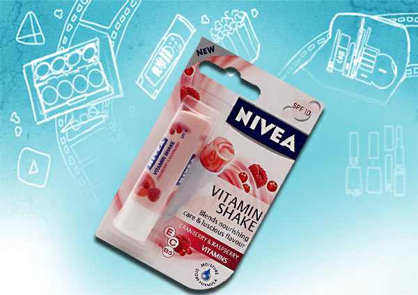nivea vitamin shake cranberry and raspberry