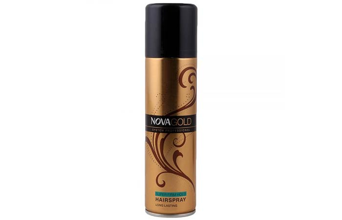 Nova Gold Super Firm Hold Hairspray