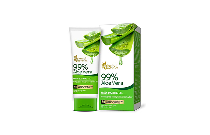 Oriental Botanics 99% Aloe Vera Fresh Soothing Gel