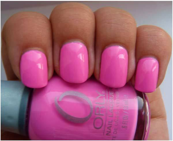 orly fancy fuchsia swatch