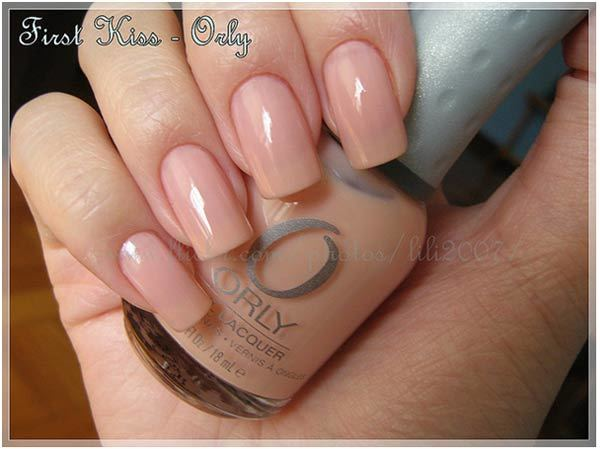 orly first kiss swatch