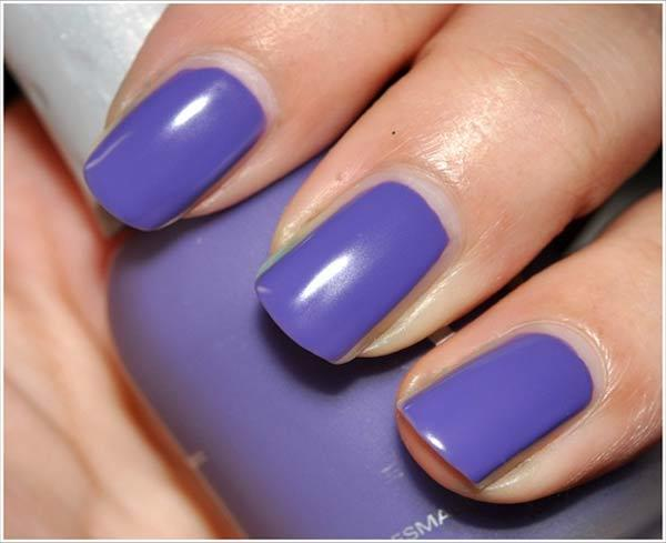 orly purple leather swatch