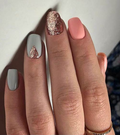 Glitter Nail Art Ideas Step By Step Tutorials For Glitter Nail Designs
