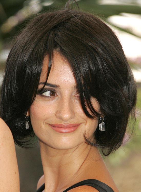 Penelope Cruz hairstyle