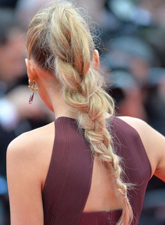 Ponytail-braid