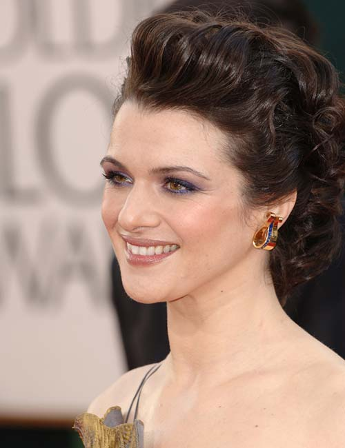 Rachel Weisz – The Curly High Pony