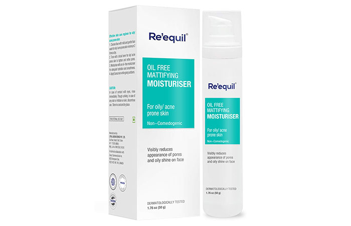 Re'equil Oil-Free Mattifying Moisturizer