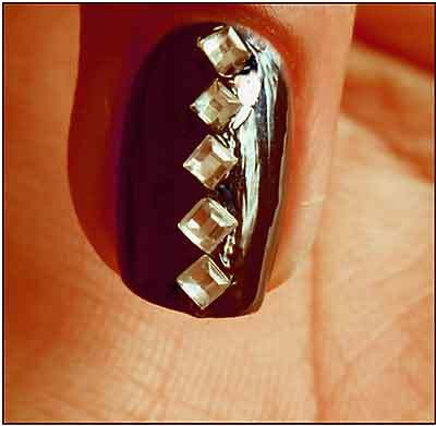 Rhinestones for nail design