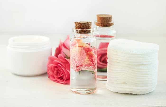 Rose Water Spray For Acne