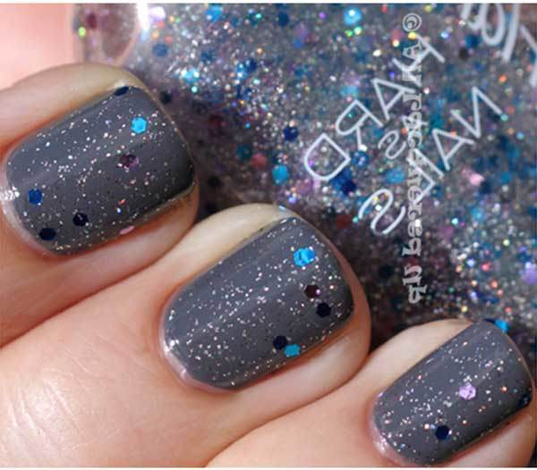 sally hansen ice queen swatch