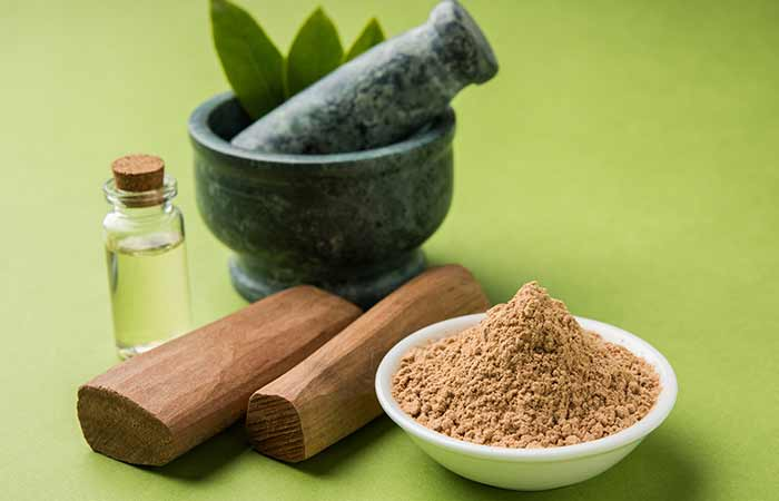 Sandalwood AndRose Water For Acne