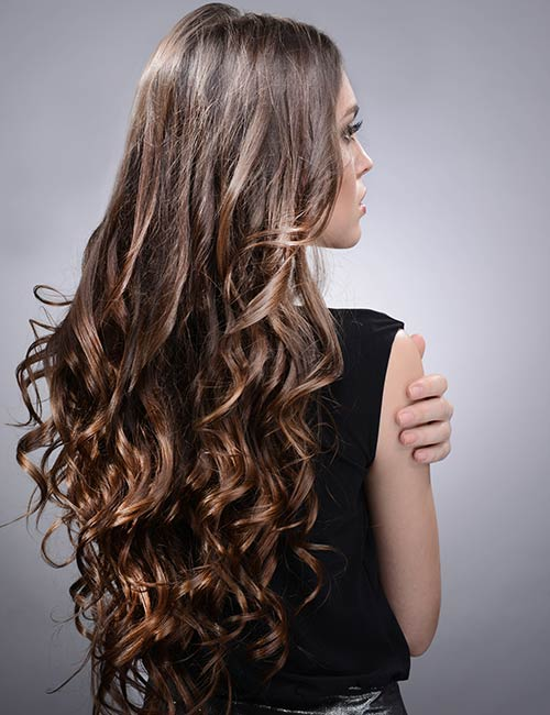Scrunched Curls