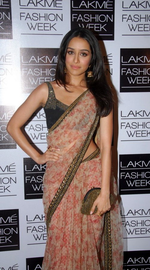 Shraddha Kapoor In Beige Saree