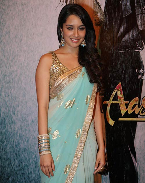 Shraddha-Kapoor-In-The-Aashiqui-2-Saree