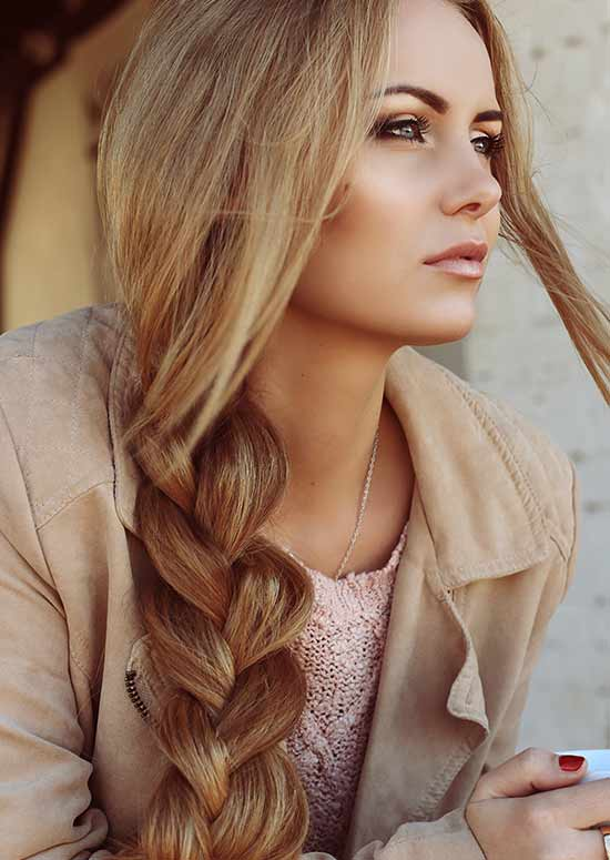 Latest Hairstyles For Long Hair - Simple Braid
