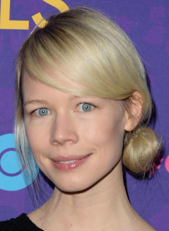 Simple-Low-Side-Bun-with-Side-Swept-Bang