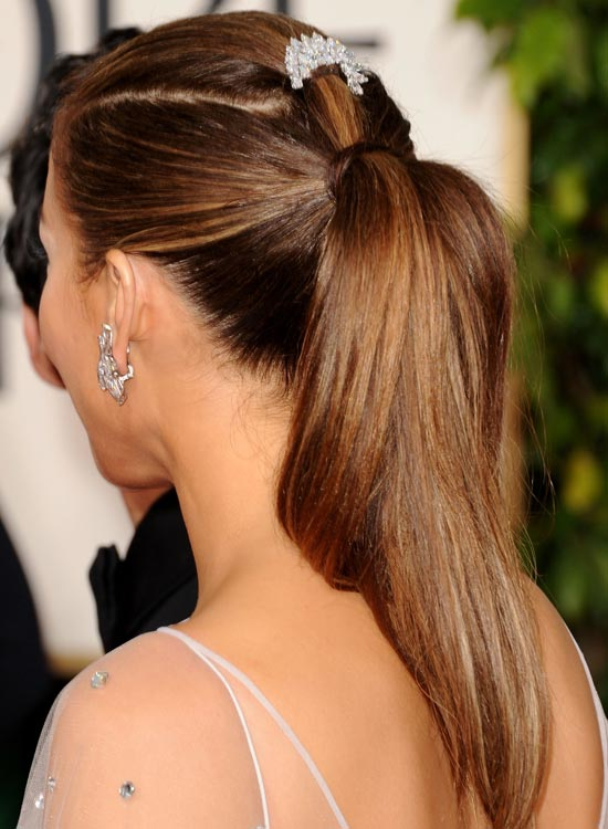 Sleek-Embellished-Ponytail