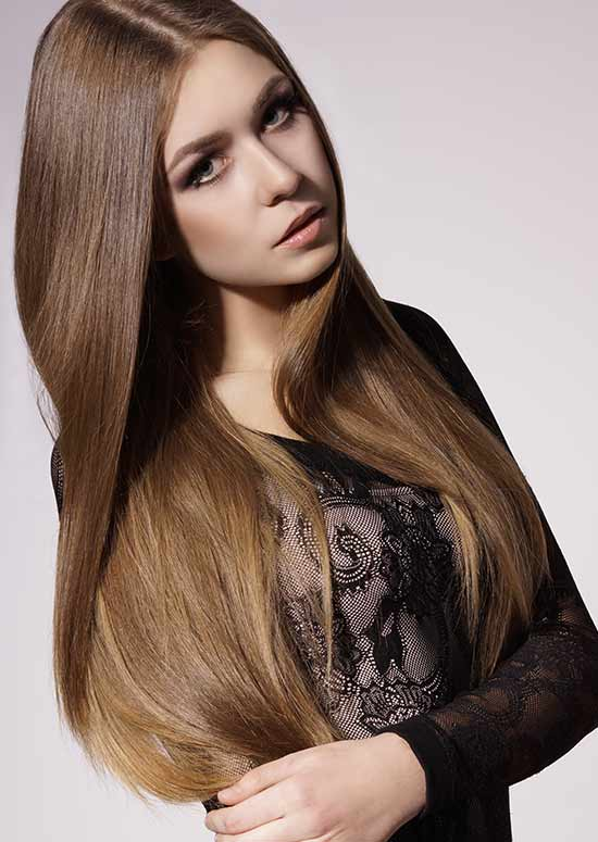 Latest Hairstyles For Long Hair - Sleek and Shiny