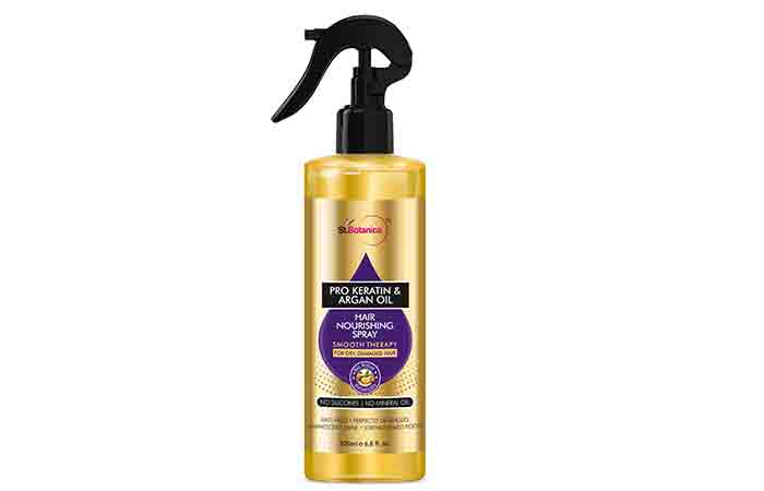 St. Botanica Pro Keratin & Argan Oil Hair Nourishing Spray