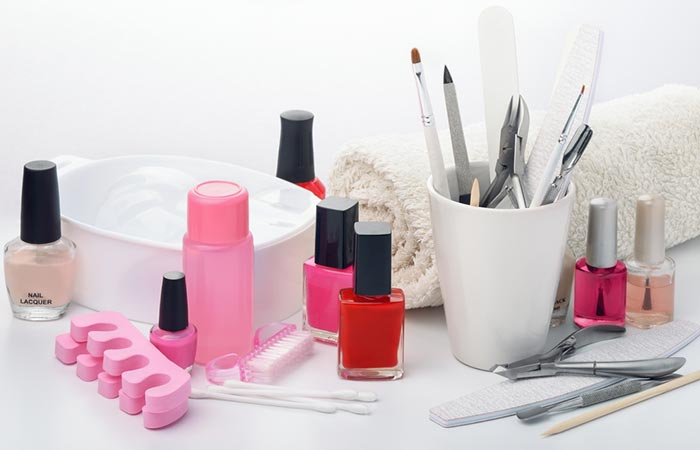 Gather All The Essential Tools - Manicure