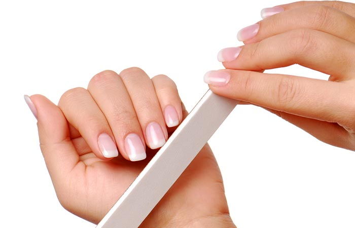 Clip And File Your Nails - Manicure