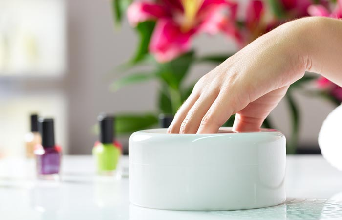 Soak Your Nails (And Hands) - Manicure