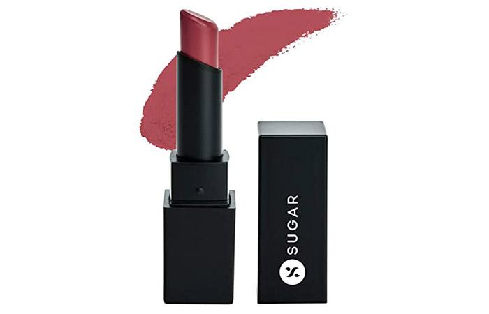 Sugar Cosmetics Nothing Else Matter Longwear Lipstick – Bare Hug (Pink Nude)