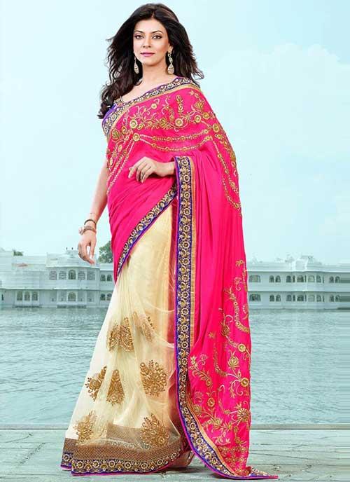 Sushmita Sen In Pink Saree