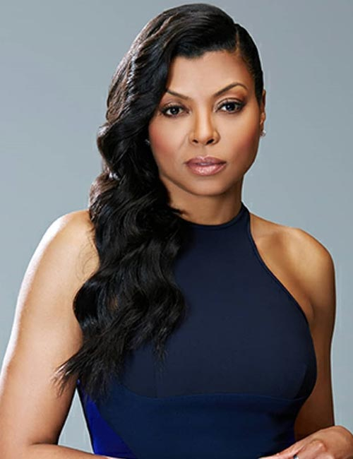 Taraji P. Henson – Wavy Side-Sweep