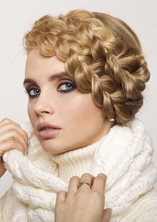 The-Braided-Headband-Or-Milkmaid-Braid hairstyle