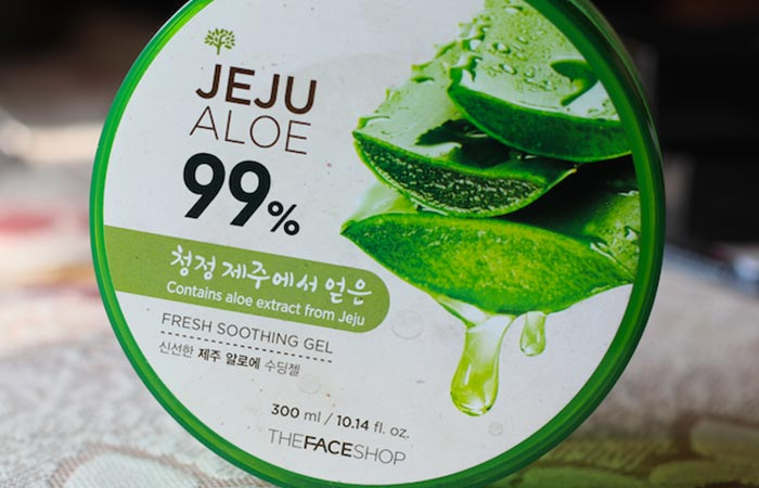 The Faceshop Jeju Aloe Fresh Soothing Gel