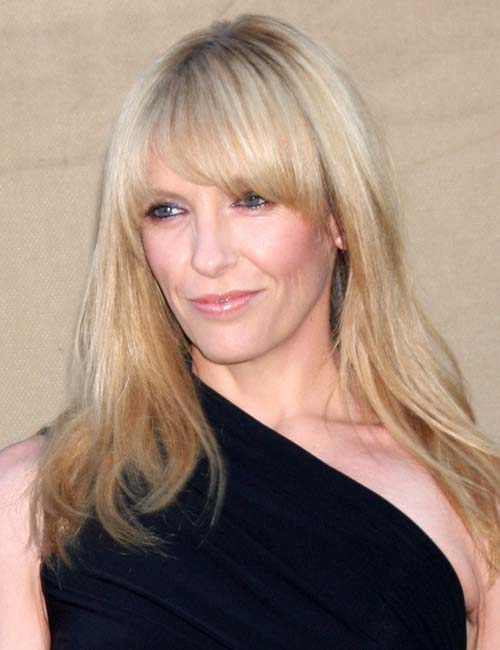 Toni Collette – Tapered Bangs