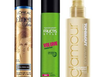 Top 16 Hairsprays Available In India
