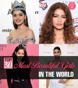 Top 30 Most Beautiful Girls In The World