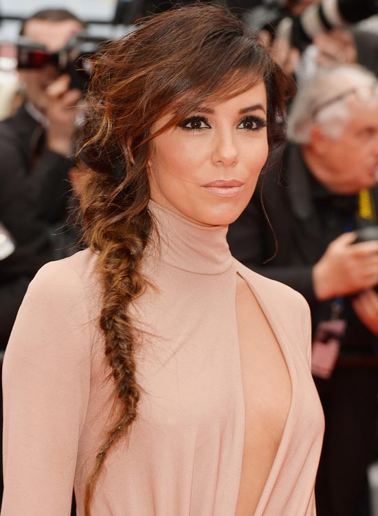 Tousled-Banged-Braid