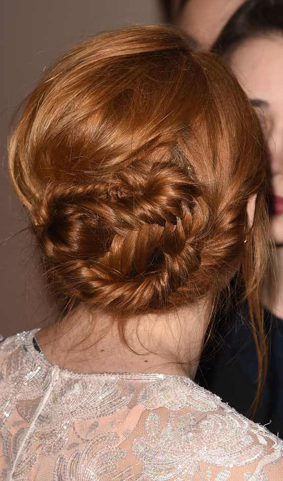 Tousled-Braided-Bun