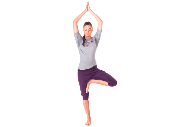 tree pose yoga benefits