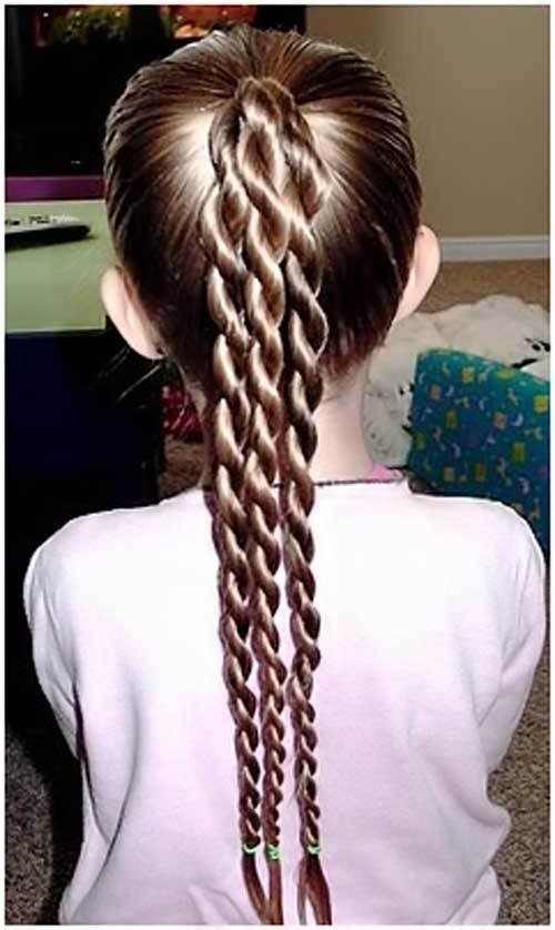 kids hairstyles for long hair child hairstyles boy braids for