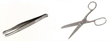 Tweezers for nails