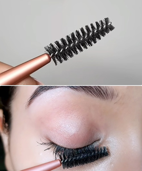 Use A Clean Spoolie Brush To Prevent Clumping