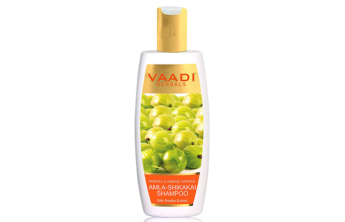 Vaadi Herbals Hair Fall And Damage Control Amla Shikakai Shampoo - Anti-Hair Fall Shampoos