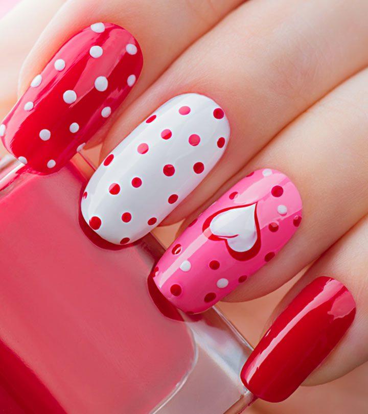Valentine's-Day-Inspired-Nail-Art-Tutorials