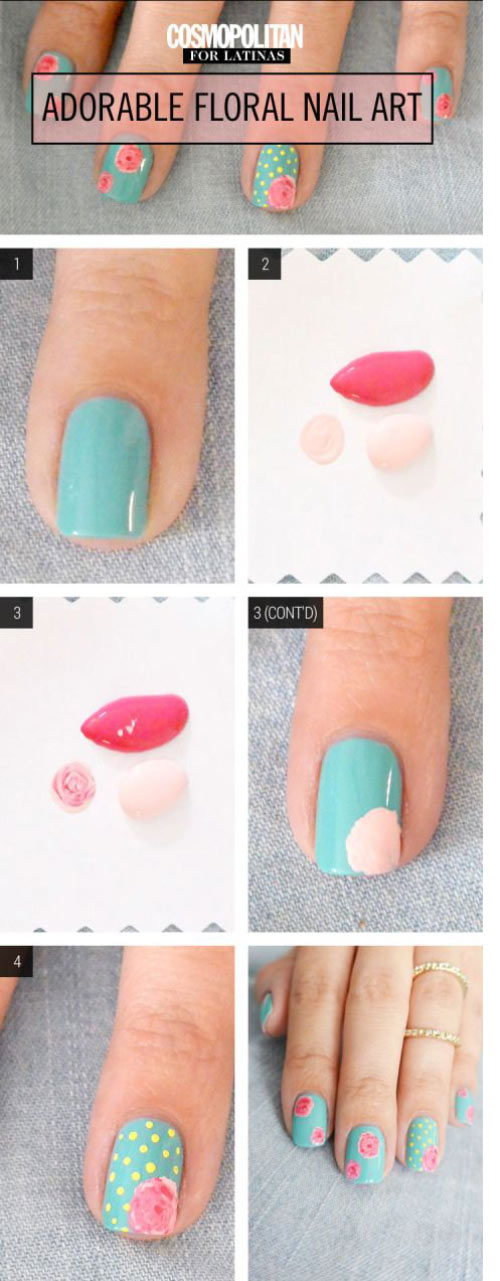 Top 25 Valentine\'s Day Nail Designs (With Hearts And Roses)
