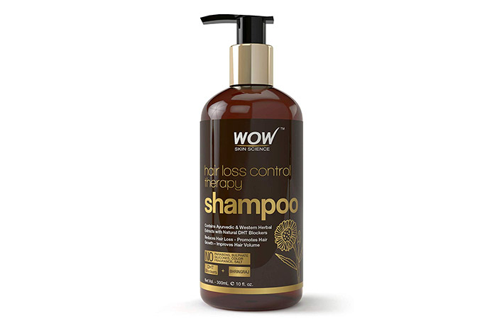 WOW Skin Science Hair Loss Control Therapy Shampoo - Anti-Hair Fall Shampoos