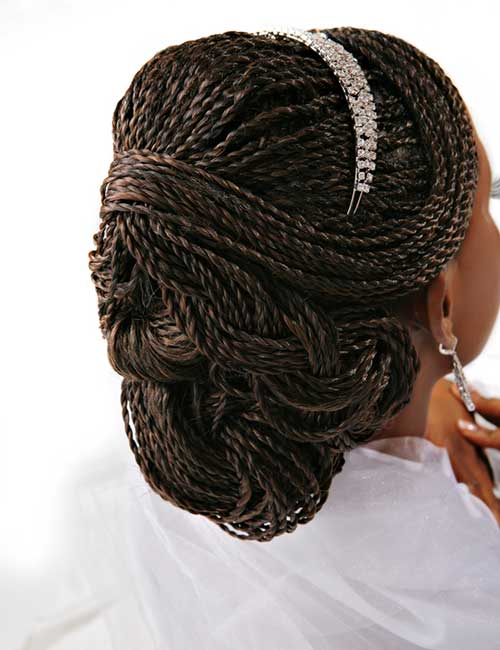Wedding Braids Weave Style